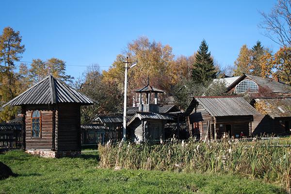 Достопримечательности Мышкина: Музей малых форм крестьянской архитектуры