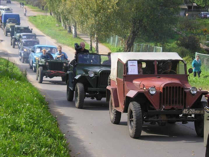 Фестиваль ретро-техники состоится в Мышкине.